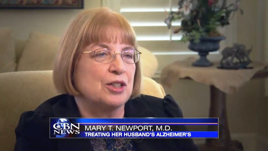 Coconut Oil As An Alzheimer's Treatment - Dr. Mary Newport