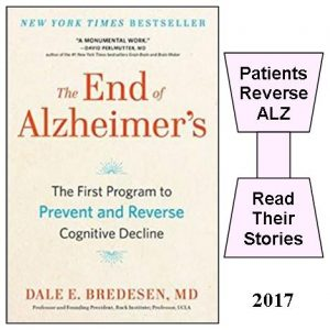 The End of Alzheimer's (2017 book) by Dale E. Bredesen, MD